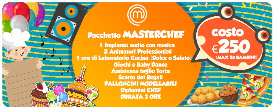 PACCHETTO master chef